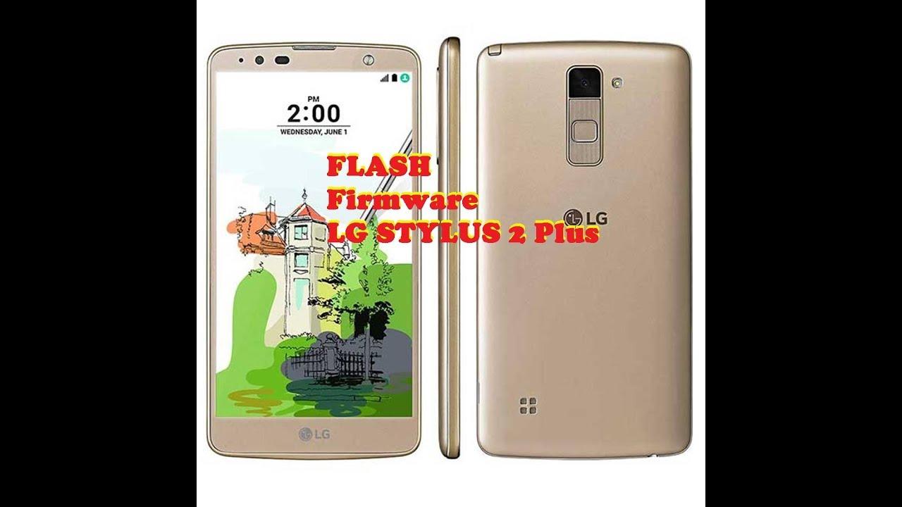 How to Flash Stock Firmware LG Stylus 2 Plus With LG Flashtool
