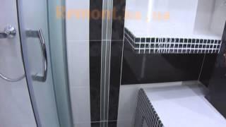 Оригинальный дизайн ванны своими руками Душевая вместо ванной?(Натяжной потолок.Диодная подсветка.Полки в ванной.Правильная установка душевой кабины.Дизайн ванной своим..., 2013-12-18T23:49:27.000Z)