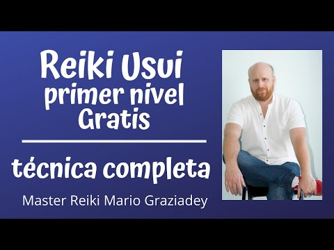 Reiki Usui Nivel 1 - Técnica completa