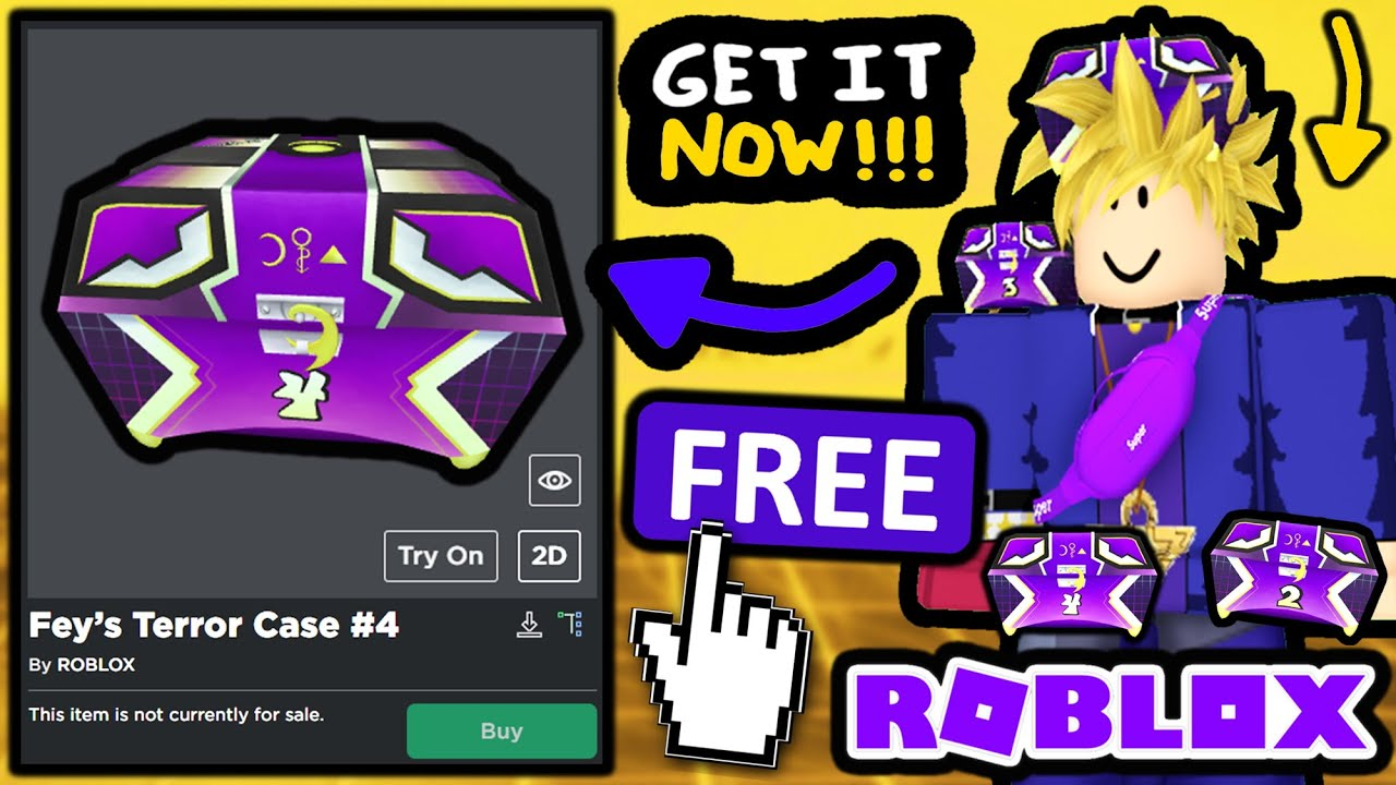 FREE ACCESSORY! How TO GET Fey's Terror Case #4! (ROBLOX METAVERSE CHAMPIONS)