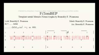 VIDEO MENULIS NOTASI ANGKA dengan FITEMBEP by BRANCKLY E  PICANUSSA 001