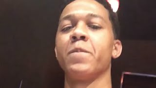 Lil Bibby Reacts To Goons Who Tried To Snatched His Chain And Fighting With G Herbo At CT Concert