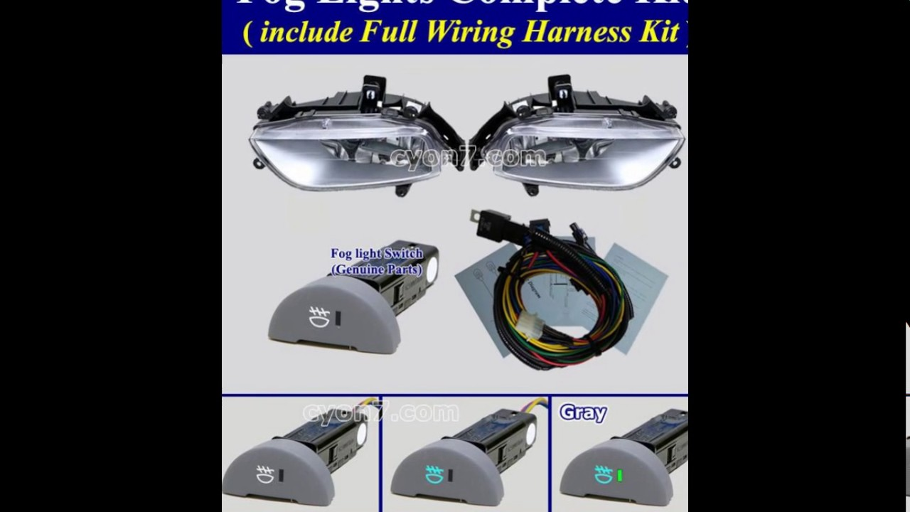 Hyundai Imax Wiring Diagram Excellent Electrical Fog Light Lamp 2007 2015 H 1 Grand Starex I800 Rh Youtube Com Diagrams Automotive Accent