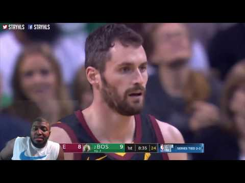 Cleveland Cavaliers Vs Boston Celtics Game  5 (NBA PLAYOFFS 2018 RD3) REACTION FULL HIGHLIGHT