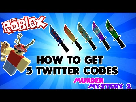 [ROBLOX] How to get 5 Twitter Codes [Murder Mystery 2]