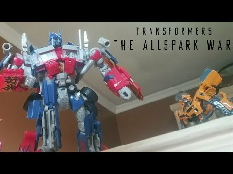 Transformers The Allspark War Stop Motion