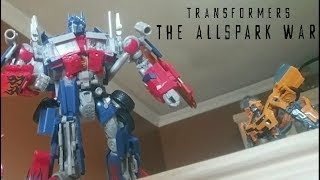 Transformers The Allspark War Stop Motion