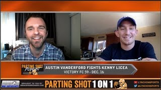 Austin Vanderford talks dating Paige VanZant, training with Chael Sonnen & Victory FC debut Dec. 16