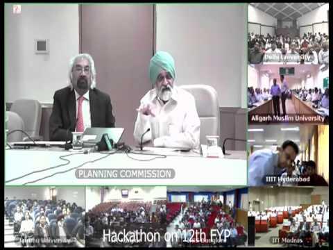 Inaugural Address on Twelfth Five Year Plan Hackathon on 6th April, 2013