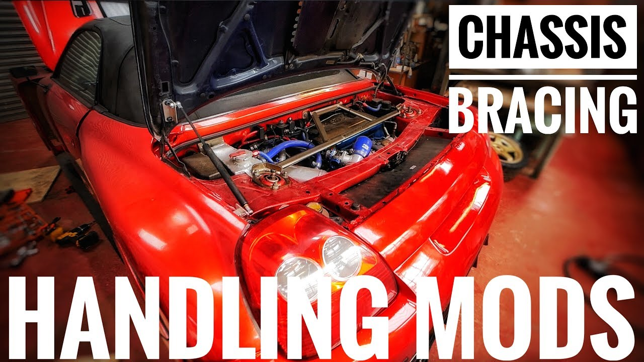 chassis bracing - MR2 Spyder / roadster turbo build