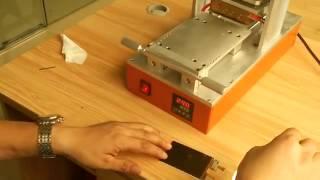 как снять остатки клея с дисплея с помощью аппарата(, 2014-02-08T21:00:24.000Z)