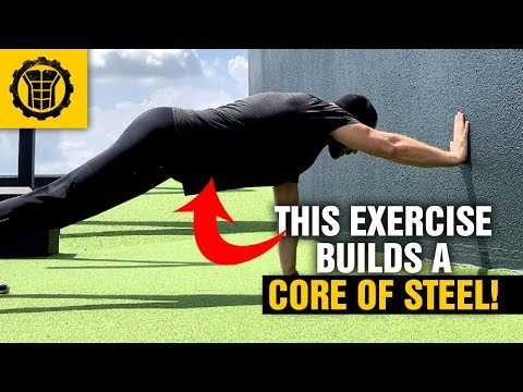 This Little Known Exercise Builds a Strong Core at Home Plank Wall Walk Sixpackfactory