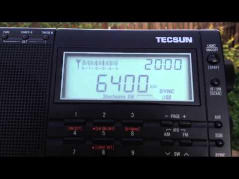 Pyongyang Broadcasting Station 6400 kHz