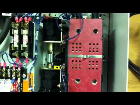 3 generac 200a rts transfer switches youtube Relay Switch Wiring Diagram
