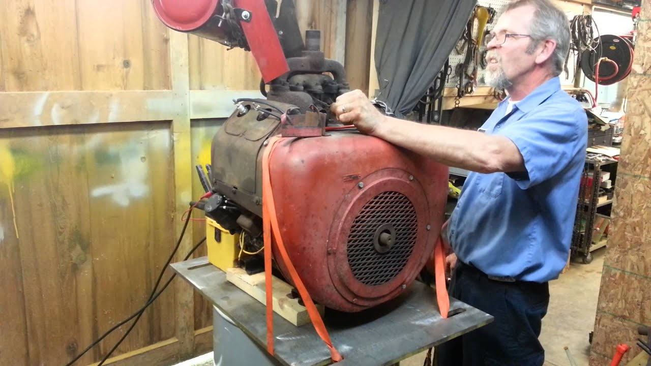 Wisconsin Single Cylinder Engines Of 4 - Year of Clean Water