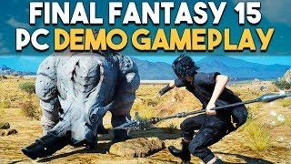 Final Fantasy 15 PC Demo Performance Highest Settings (GTX 1080)