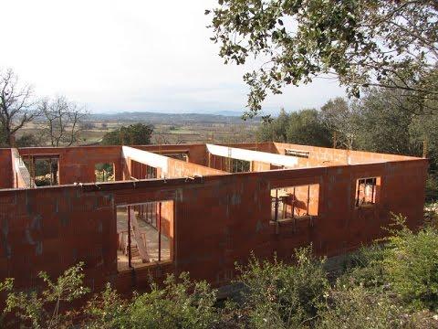 Construire une maison rt2012 el vation des murs ma onnerie for Construire une maison en kapla