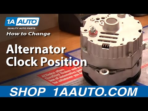 How To Change Alternator Clock Position or Degree - YouTube