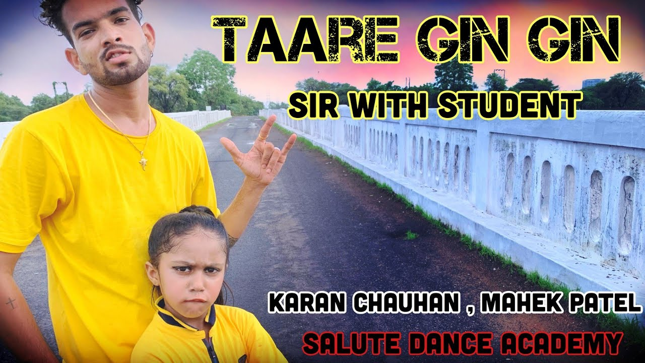 TAARE GIN GIN   SUKHBIR   SALUTE DANCE ACADEMY   PANJABI SONG   DANCE COVER   FREESTYLE   SANDEEPSVP
