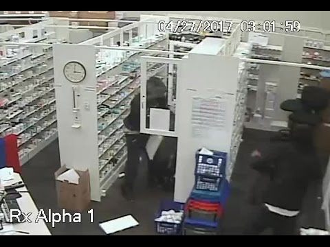 WATCH: Burglars Smash Into Walgreens in Brewton