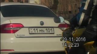 Ճանապարհային երթևեկության կանոնները խախտած ավտոմեքենաները՝  «Հերթապահ մաս» ի տեսադաշտում