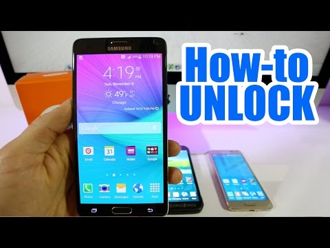 How To Unlock Samsung Galaxy Note 4 -...