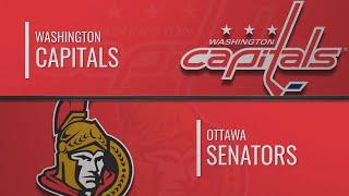 Washington Capitals vs Ottawa Senators | Jan.31, 2020 | Вашингтон - Оттава | НХЛ обзор матчей