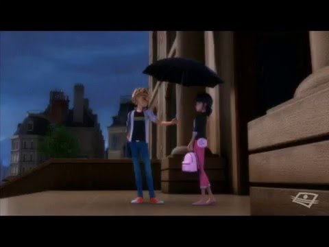 Miraculous Ladybug Marinette And Adrien Quot In The Rain