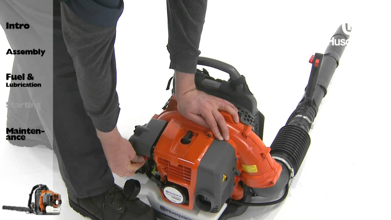 husqvarna backpack blowers starting instructions youtube rh youtube com husqvarna 150bt repair manual husqvarna 150bt manual pdf