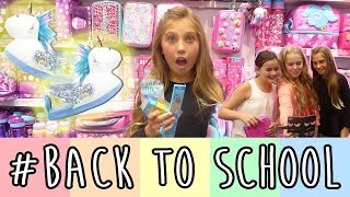 BACK TO SCHOOL (come shopping with me!) | Rosie McClelland