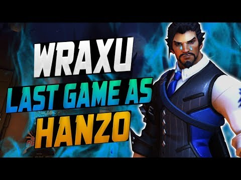 WRAXU - LAST GAME AS HANZO?! [ OVERWATCH SEASON 10 TOP 500 ] thumbnail