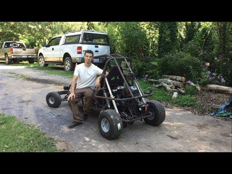 Suzuki gs500 mini buggy build part 9 bigger tires!!!