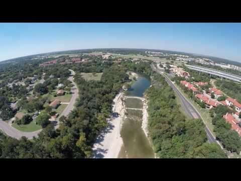 3DR Fly By - San Gabriel Park @ Georgetown, TX