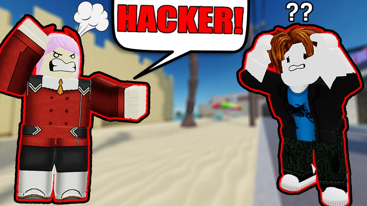 disguising as a noob and 1v1ing people roblox arsenal