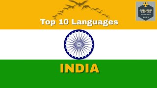 Most Spoken Languages In India | Top 10 Languages of India | Common Top 10 (CT10) | [ Survey 2020 ]