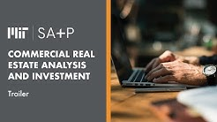 Course Trailer | MIT SA+P Commercial Real Estate Analysis and Investment