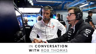 Embracing Challenges and Leading the Mercedes F1 Factory with Rob Thomas!
