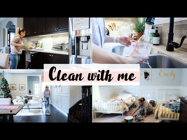 Clean With Me | December 2019 | Motivation