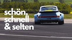 Endlich wieder echte Rennautos durchladen - Porsche, Lotus und co. auf dem Flugfeld in Mendig