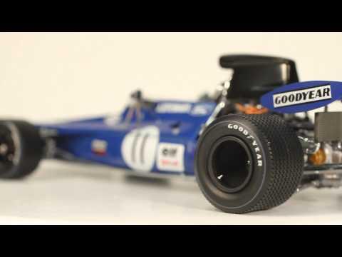 Exoto Grand Prix Classics 1/18 Jackie Stewart #11 Elf Tyrrell-Ford 003