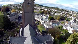 A bit of aerial footage of the local church shot with GitUp Git2 an...