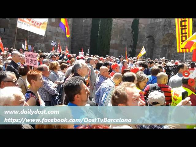 1 may labour day in Barcelona