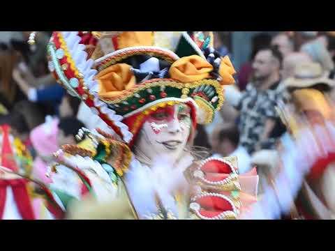Desfile De Carnaval De Badajoz.Los Tukanes.23-2-2020.