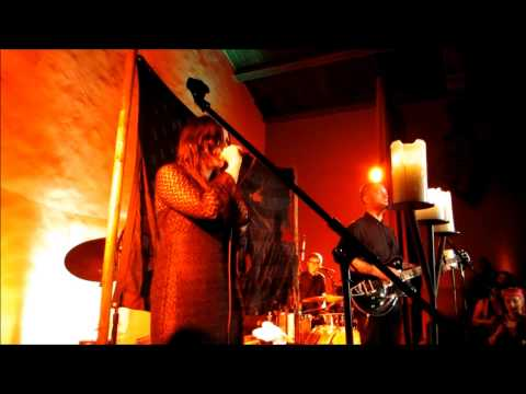 """King Dude & Chelsea Wolfe """"Be Free"""" Hollywood Forever, Los Angeles. 9-11-14"""