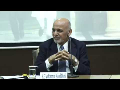 Address by H E  Mohammad Ashraf Ghani (Hon'ble President of the I. R. of Afghanistan) at the VIF