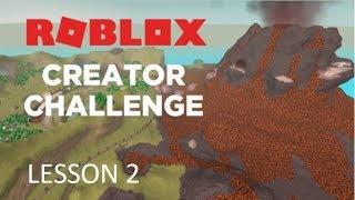ROBLOX ~ Jurassic World / Creator Challenge Lesson 2 Guide!
