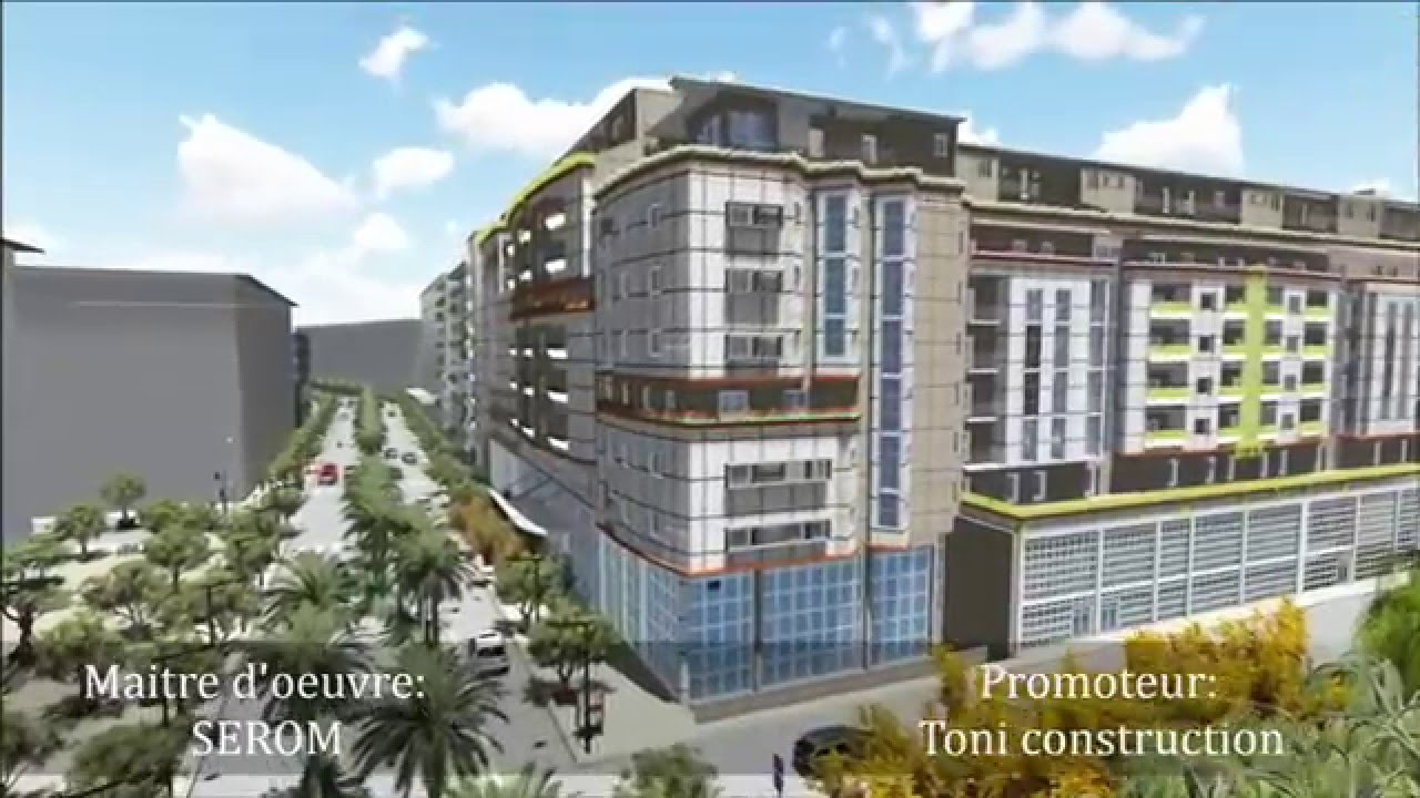 Toni construction promotion immobili re alger youtube for Construction immobiliere