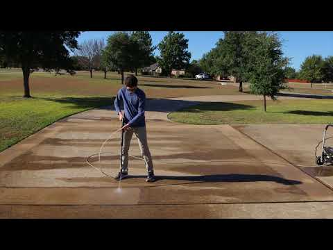 Pressure Washing for 45 minutes