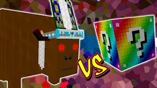 CHEFE BOIZÃO VS. LUCKY BLOCK RAINBOW (MINECRAFT LUCKY BLOCK CHALLENGE CHIEF THUNDERHOOVES)