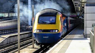 Trains at London St Pancras Int'l | 09/05/2018 - 4K HD